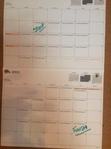 New Radiation Schedule